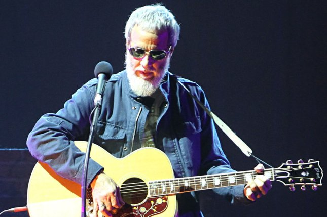 Yusuf Islam, formerly Cat Stevens, said he was never given a reason for being on the 'no-fly' list or for being removed from it. UPI/David Silpa
