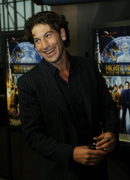 Jon Bernthal arrives for a screening of Night at the Museum: Battle of the Smithsonian at the Smithsonian National Air and Space Museum in Washington on May 14, 2009. (UPI Photo/Alexis C. Glenn)
