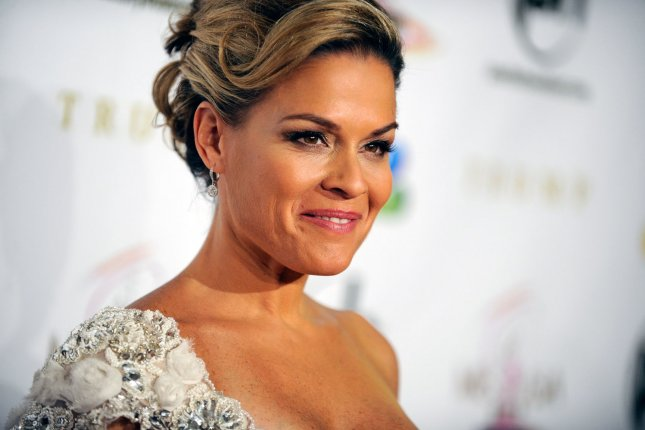 Cat Cora at the Miss USA competition in Las Vegas, Nev., on June 3, 2012. The celebrity chef and wife Jennifer Cora have filed for divorce. File Photo by David Becker/UPI