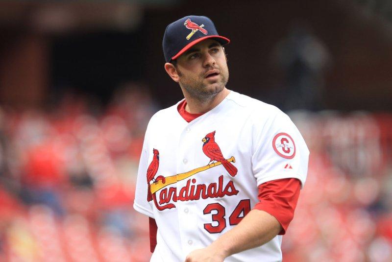 Former St. Louis Cardinals pitcher Marc Rzepczynski. UPI/Bill Greenblatt