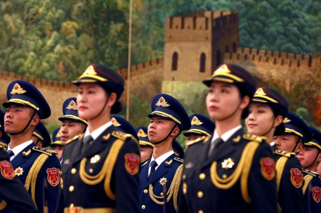 Troop maneuvers have been ongoing on both sides of the China-India border. File Photo by Stephen Shaver/UPI