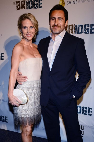 Demian Bichir (R) celebrated his late wife Stefanie Sherk's birthday on Saturday with a sweet Instagram post. File Photo by Jim Ruymen/UPI