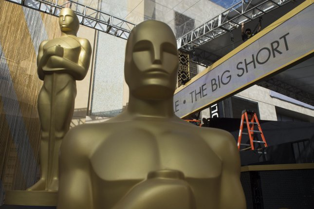 The Academy of Motion Picture Arts and Sciences has moved the 94th annual Oscars ceremony to March 27, 2022. File Photo by Kevin Dietsch/UPI