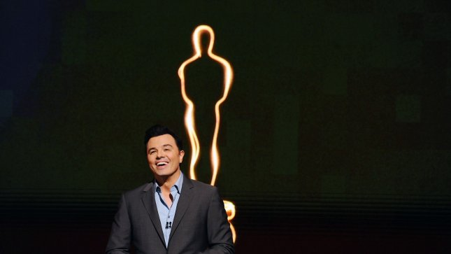 Host Seth MacFarlane announces the nominees for the 85th Academy Awards at the Samuel Goldwyn Theatre in Beverly Hills, California on January 10, 2013. The 85th Annual Academy Awards will take place February 24. UPI/Jim Ruymen