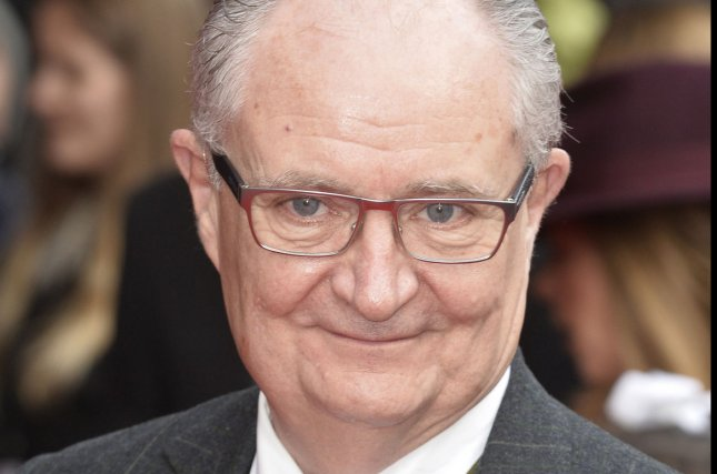 English actor Jim Broadbent attends the U.K. premiere of 'Get Santa' at Vue West End in London on Nov. 30, 2014. Photo by Paul Treadway/UPI