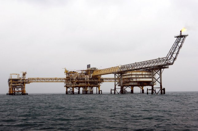 French energy company Total said it may have to pull out of the South Pars gas field offshore Iran unless it can get protection from U.S. sanctions. File Photo by Maryam Rahmanian/UPI