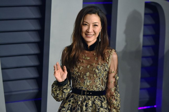 Michelle Yeoh will join Laurence O'Fuarain in The Witcher: Blood Origin, a prequel to the Netflix series The Witcher. File Photo by Christine Chew/UPI