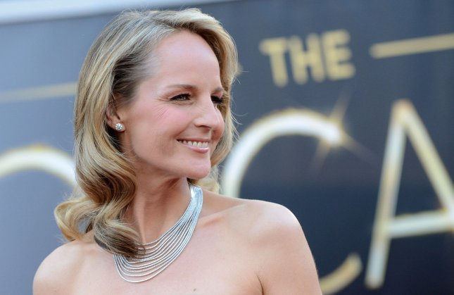 Helen Hunt arrives on the red carpet at the 85th Academy Awards at the Hollywood and Highlands Center in the Hollywood section of Los Angeles on February 24, 2013. UPI/Kevin Dietsch