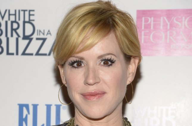 Molly Ringwald says daughter Mathilda loves 'The Breakfast Club.' File photo by Phil McCarten/UPI