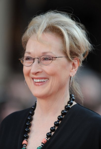 Meryl Streep at the London premiere of Florence Foster Jenkins on April 12. The actress is in talks for Mary Poppins Returns. File photo by Paul Treadway/UPI