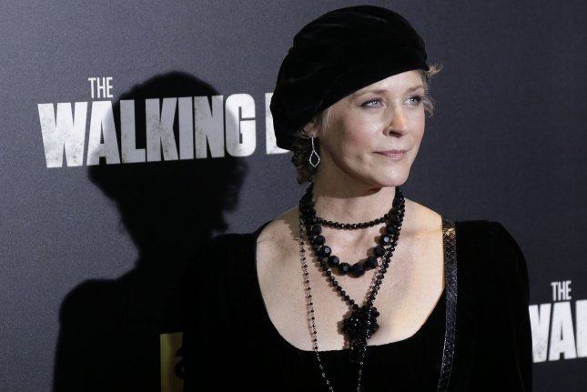 Melissa McBride arrives on the red carpet at AMC's 'The Walking Dead' Season 6 fan premiere event on October 9, 2015 in New York City. File Photo by John Angelillo/UPI