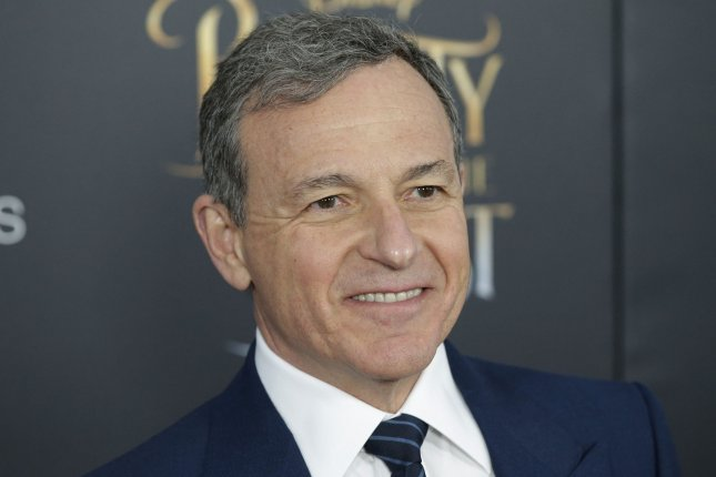 Bob Iger arrives on the red carpet at the Beauty And The Beast New York Screening on March 13, 2017. Iger has discussed deatils surrounding the Han Solo spinoff film including how the movie will explore how the character recieves his name. File Photo by John Angelillo/UPI