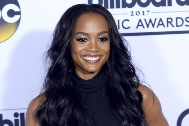 Rachel Lindsay was surprised by ex-beau and Bachelor Winter Games star Dean Unglert calling it quits with Lesley Murphy. File Photo by Jim Ruymen/UPI