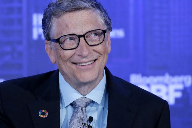 Billionaire Bill Gates said his foundation and Google founder Larry Page are offering $12 million to fund research into universal flu vaccines in preparation for the next flu pandemic. File Photo by John Angelillo/UPI
