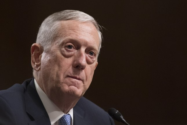 Retired Gen. James Mattis, nominated to be secretary of defense, said Thursday the United States must embrace international alliances and security partnerships. Photo by Kevin Dietsch/UPI