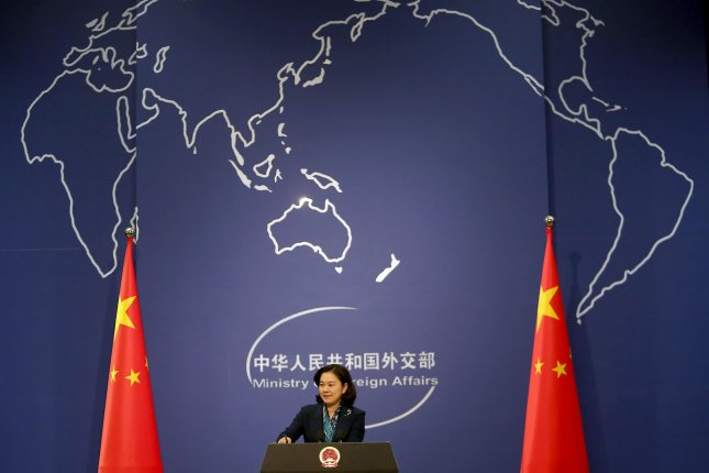 Chinese foreign ministry spokeswoman Hua Chunying addressed press reports regarding U.S. visa restrictions on Chinese citizens. File Photo by Stephen Shaver/UPI