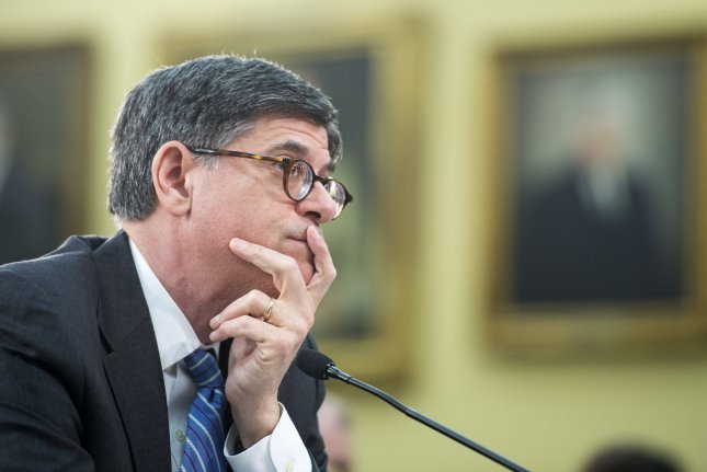 Treasury Secretary Jack Lew testifies during a House Financial Services and General Government Subcommittee hearing on the Department of Treasury FY2015 Budget Hearing in Washington, D.C. on April 29, 2014. UPI/Kevin Dietsch