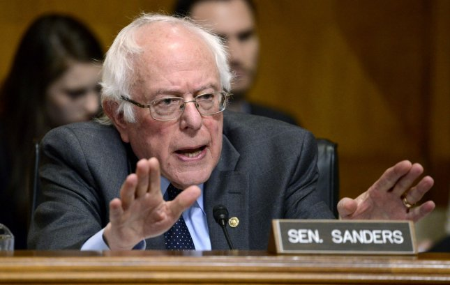 Monday, the Congressional Budget Office released an estimate of a prescription drug bill proposed by Sen. Bernie Sanders that said it would save Americans $7 billion over 10 years. File Photo by Mike Theiler/UPI