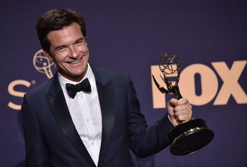 Jason Bateman is set to appear on Sunday's Emmy Awards virtual ceremony on ABC. File Photo by Christine Chew/UPI