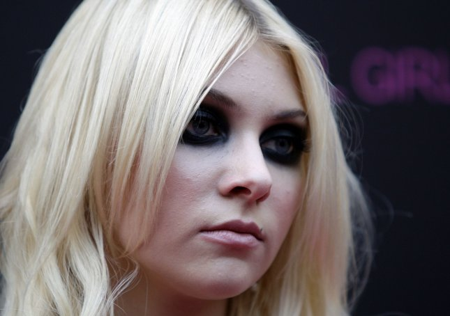 Taylor Momsen walks the pink carpet at Macy's Herald Square to celebrate the launch of the Material Girl clothing line in New York City on September 22, 2010. UPI/John Angelillo