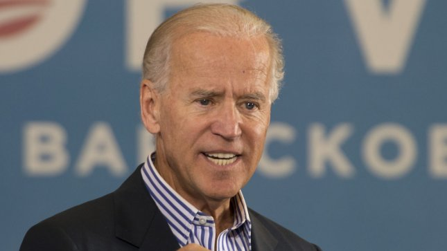 U.S. Vice President Joe Biden Tuesday charged Republican tax plans would burden the middle class at a Charlotte. N.C., campaign rally. Sept. 28 file photo. UPI/Gary I Rothstein.