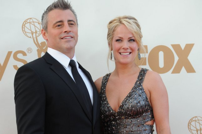 Matt LeBlanc (L) and Andrea Anders in a 2011 file photo by Jayne Kamin Oncea/UPI