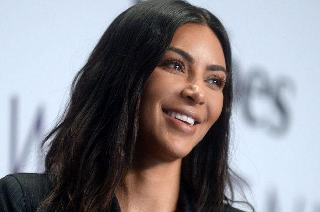 Kim Kardashian attends the Forbes Women's Summit on June 13. The reality star was mom-shamed on Facebook after posting a picture of son Saint West in a forward-facing car seat. File Photo by Dennis Van Tine/UPI