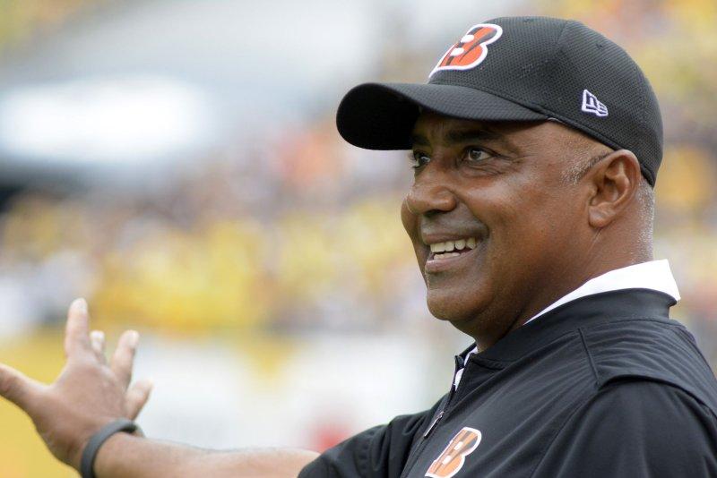 Cincinnati Bengals head coach Marvin Lewis. File photo by Archie Carpenter/UPI
