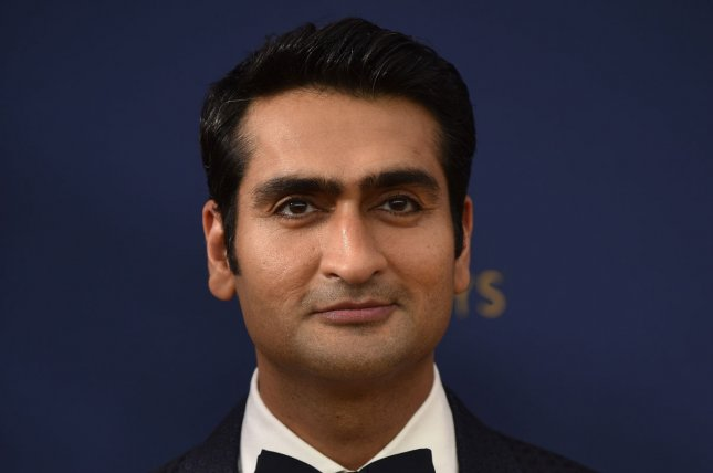 Kumail Nanjiani explained on Conan O'Brien's podcast why he missed his appearance on O'Brien's TV show. File Photo by Christine Chew/UPI