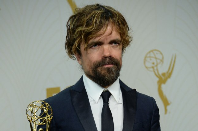 Peter Dinklage discussed playing Hervé Villechaize in My Dinner with Hervé. File Photo by Jim Ruymen/UPI
