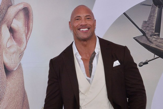 Dwayne Johnson has been named the highest paid actor for 2019 ahead of Chris Hemsworth and Robert Downey Jr. File Photo by Jim Ruymen/UPI