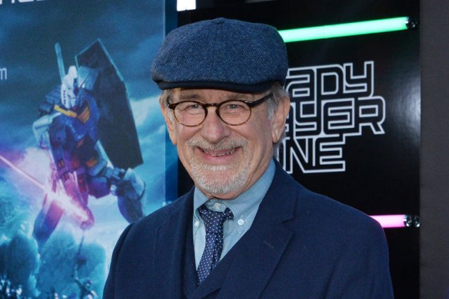 Filmmaker Steven Spielberg is producing a Broadway musical based on former NBC series Smash. File Photo by Jim Ruymen/UPI