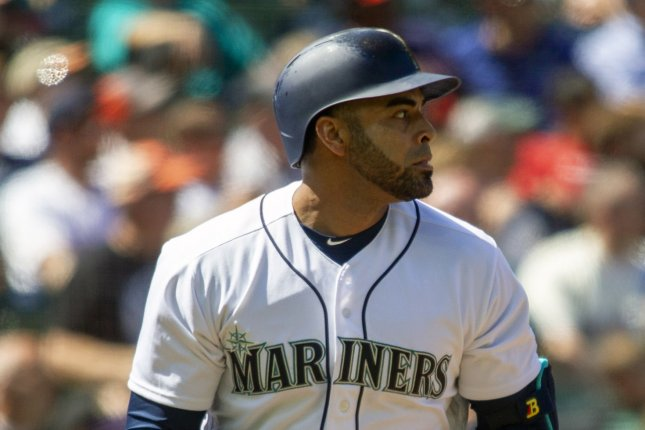 Nelson Cruz and the Seattle Mariners take on the Los Angeles Angels on Friday. Photo by Jim Bryant/UPI