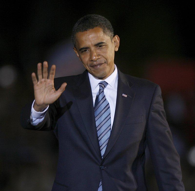 Democratic Presidential nominee Sen. Barack Obama