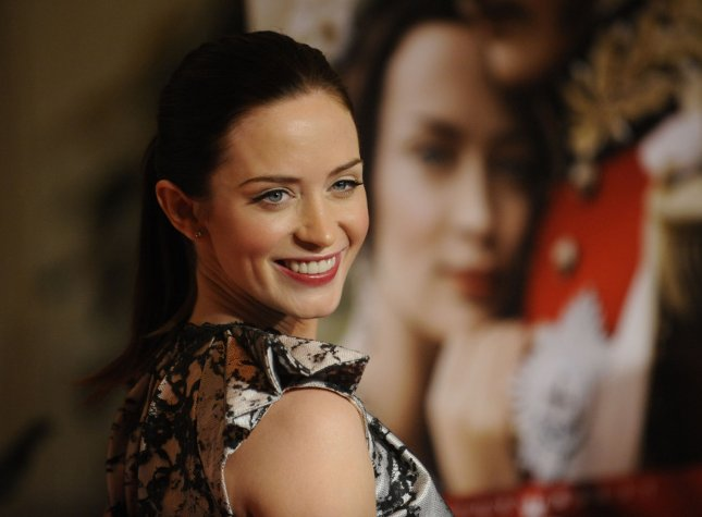 Cast member Emily Blunt attends the premiere of the film The Young Victoria in Los Angeles on December 3, 2009. UPI/ Phil McCarten
