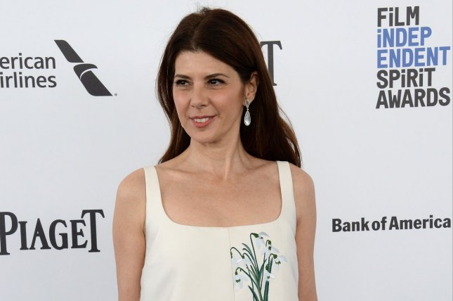 Actress Marisa Tomei attends the 31st annual Film Independent Spirit Awards in Santa Monica on February 27, 2016. Tomei will be seen playing Aunt May in Spider-Man: Homecoming, starting July 7. File Photo by Jim Ruymen/UPI