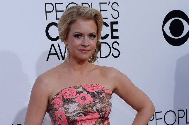 Melissa Joan Hart directed the Lifetime movie The Watcher in the Woods, which is set to debut Saturday. File Photo by Jim Ruymen/UPI