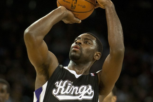 Former Sacramento Kings guard Tyreke Evans violated the league's anti-drug program. He is eligible to apply for reinstatement after two years. File Photo by Terry Schmitt/UPI