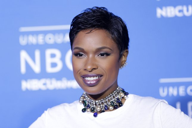 Jennifer Hudson arrives on the red carpet at the 2017 NBCUniversal Upfront at Radio City Music Hall on May 15, 2017, in New York City. The actor and singer turns 38 on September 12. File Photo by John Angelillo/UPI