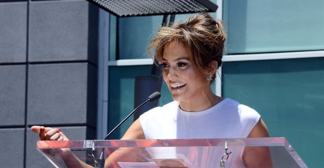 Singer and actress Jennifer Lopez during an unveiling ceremony honoring her with the 2,500th star on the Hollywood Walk of Fame in Los Angeles, June 20, 2013. UPI/Jim Ruymen