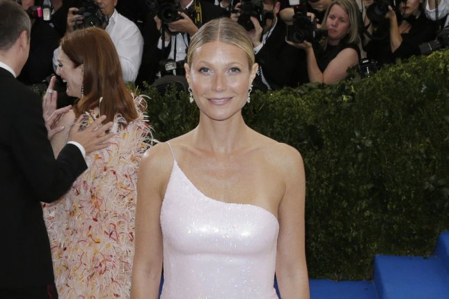 Gwyneth Paltrow attends the Costume Institute Benefit at the Metropolitan Museum of Art on May 1. The actress spent time with Cameron Diaz, Nicole Richie and Tory Burch at her In Goop Health conference Saturday. File Photo by John Angelillo/UPI