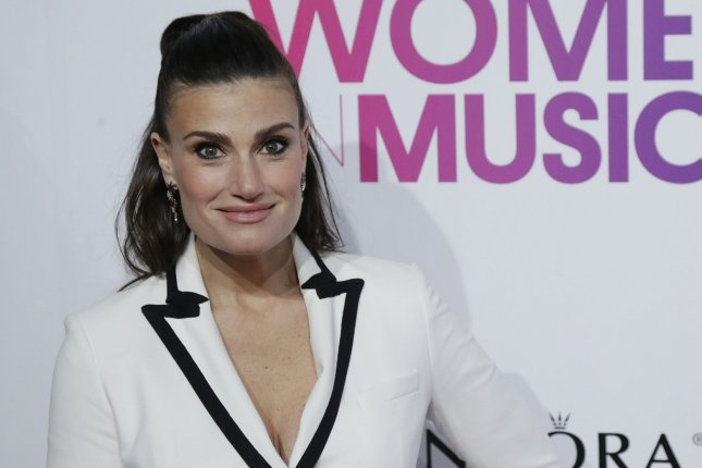 Idina Menzel attends the Billboard Women in Music event on December 9, 2016. File Photo by John Angelillo/UPI