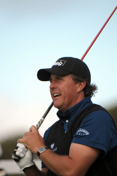 Phil Mickelson, shown at the Buick Invitational Feb. 5, 2009. (UPI Photo/Earl S. Cryer)