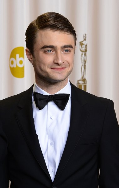 Daniel Radcliffe appears backstage at the 85th Academy Awards at the Hollywood and Highlands Center in the Hollywood section of Los Angeles on February 24, 2013. UPI/Jim Ruymen