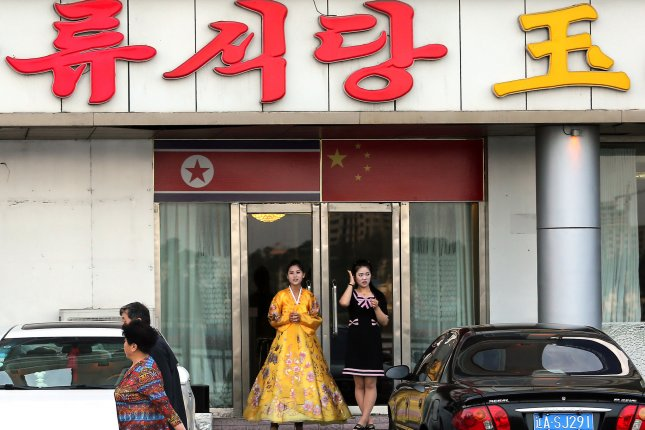 North Korean restaurant workers are the target of China's latest sanctions. File Photo by Stephen Shaver/UPI