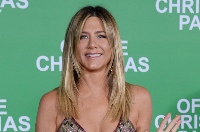 Jennifer Aniston attends the premiere of Office Christmas Party on December 7, 2016. Aniston is donating $1 million to hurricane relief efforts following storms Hurricane Maria and Harvey. File Photo by Jim Ruymen/UPI