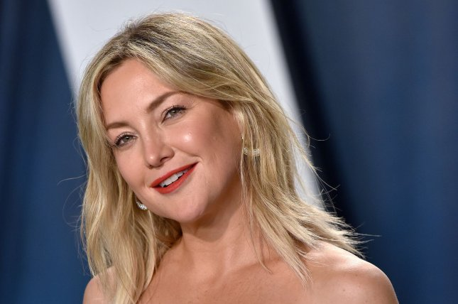 Kate Hudson arrives for the Vanity Fair Oscar party at the Wallis Annenberg Center for the Performing Arts in Beverly Hills, California on February 9, 2020. Photo by Chris Chew/UPI