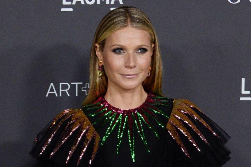 Gwyneth Paltrow attends the LACMA Art + Film gala on October 29, 2016. File Photo by Jim Ruymen/UPI