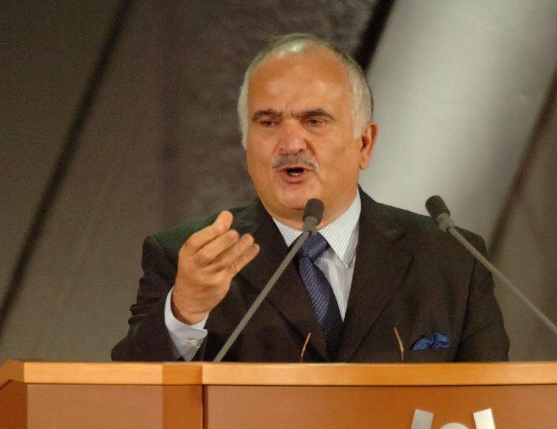 Prince El-Hassan bin Talal of Jordan (UPI Photo/Keizo Mori)