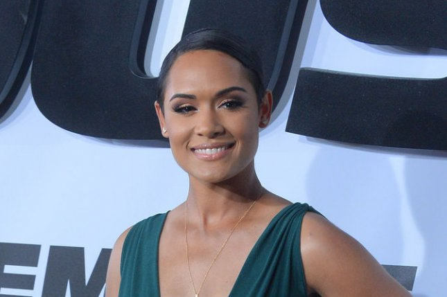 Grace Gealey at the Los Angeles premiere of 'Furious 7' on April 1. File photo by Jim Ruymen/UPI